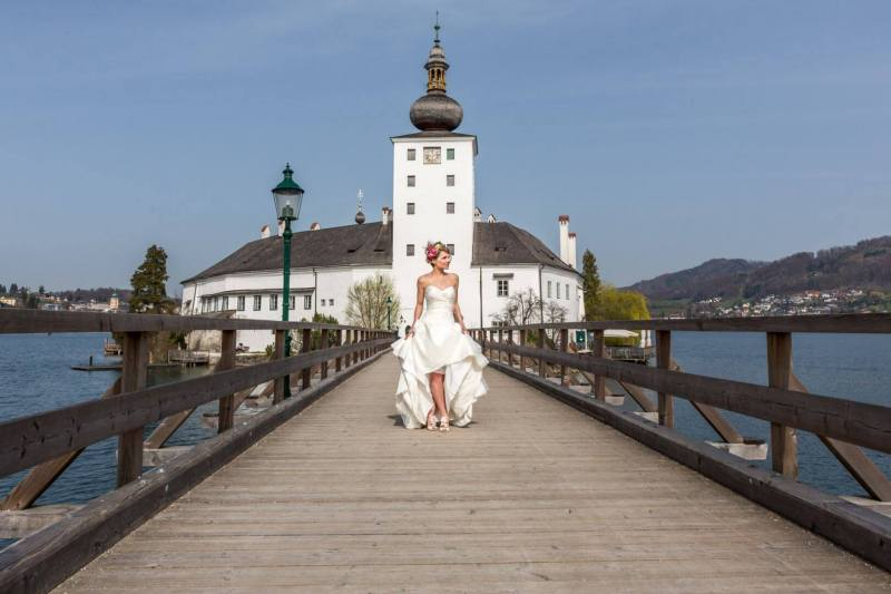 Hochzeit am Wasserschloss Gmunden