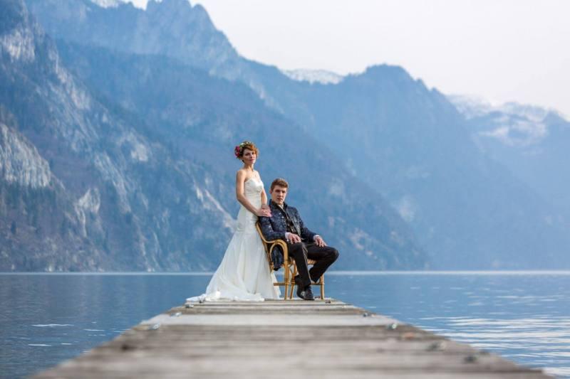 Hochzeitsshooting am Traunsee