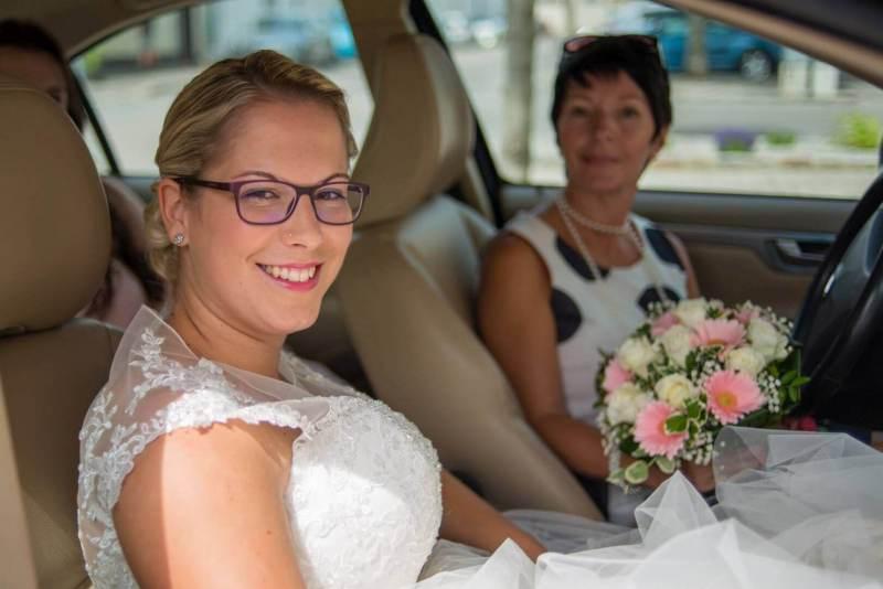 Das Ankommen der Braut