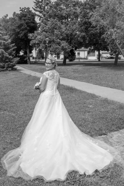 Die Brautschleppe