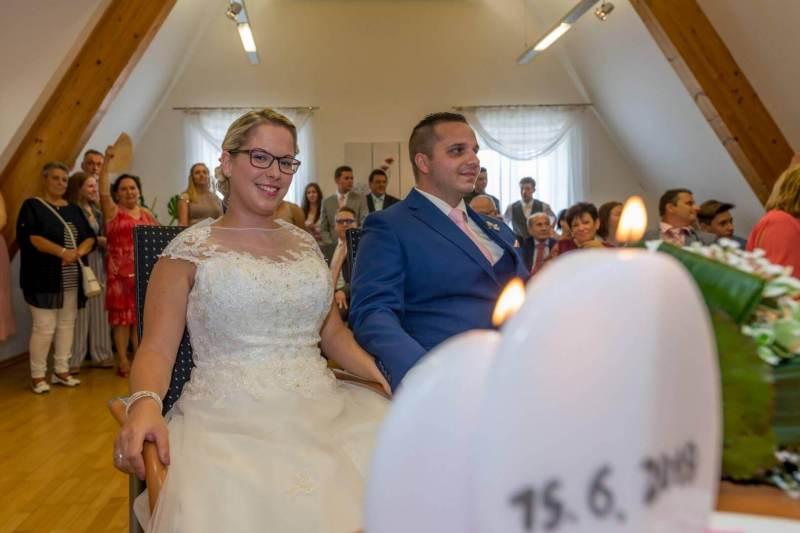 Die Hochzeit am Standesamt