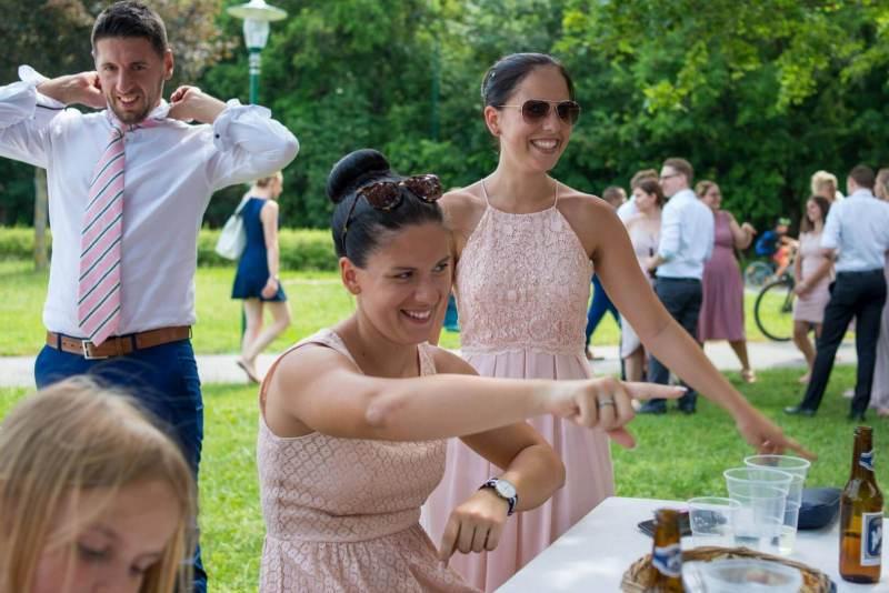 Die Hochzeitsgäste