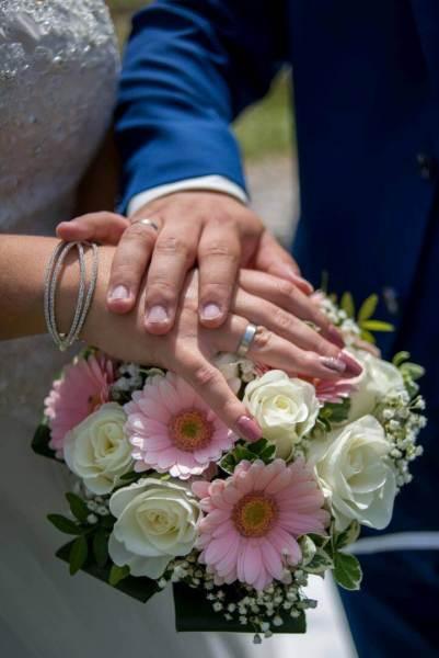 Der Hochzeitsstrauß