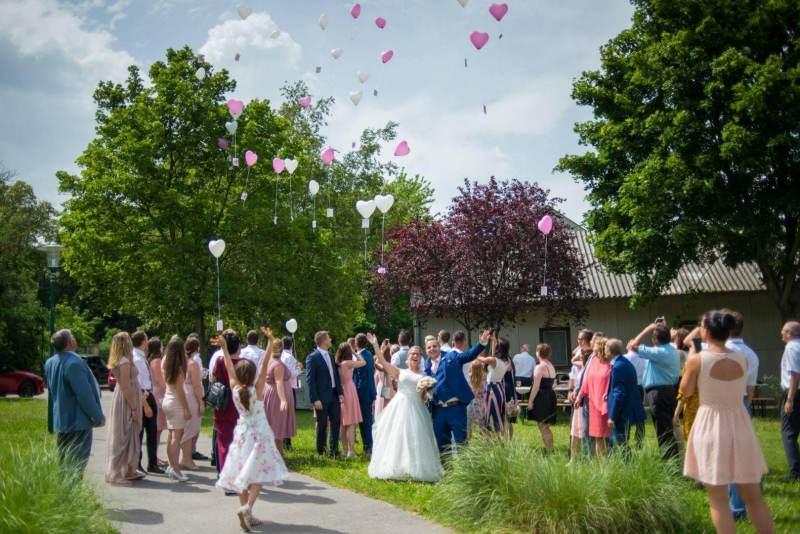 Das Luftballonsteigen